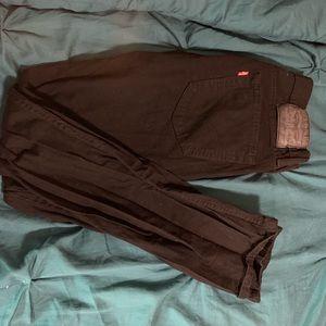 Levi 511 Black Jeans